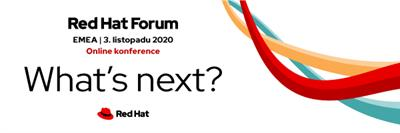 Red Hat Fórum EMEA 2020